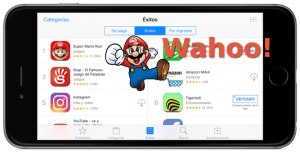 Super Mario Run y el App Store