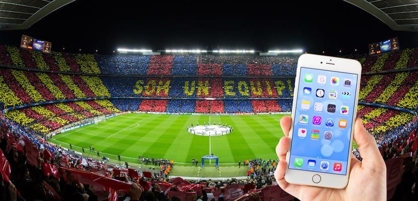 Resultado de imagen para barcelona iphone