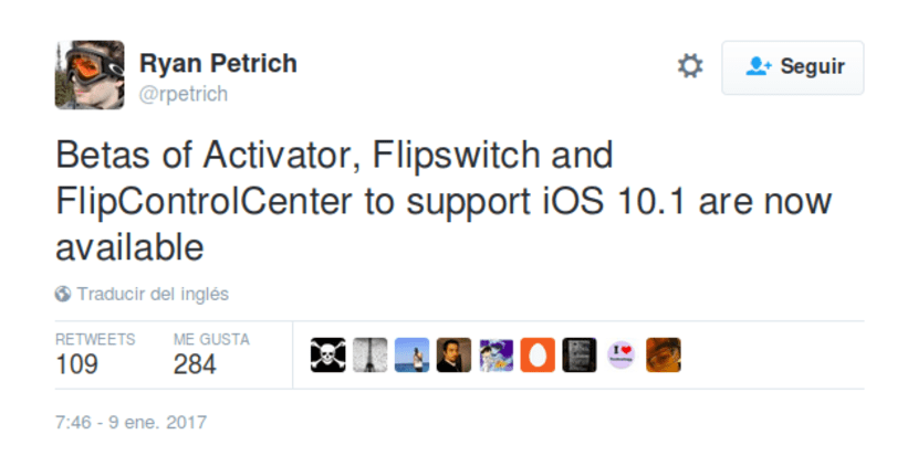 Beta de Activator, Flipswitch y FlipControlCenter ya disponibles para iOS 10