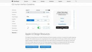 Diseño de interfaz human-de iOS 10
