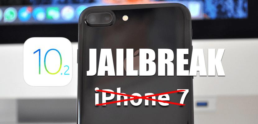 Jailbreak para iOS 10.2-no iPhone 7