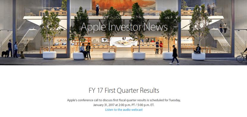 Página inversores apple