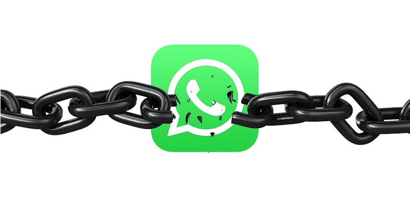 WhatsApp sin cadenas