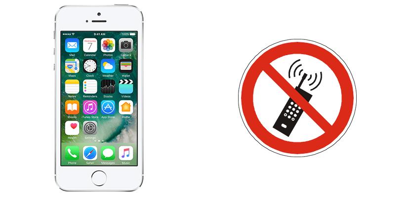 iPhone 5s sin cobertura