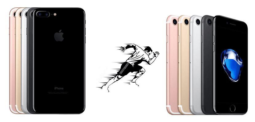iPhone 7 Plus, el teléfono más rápido