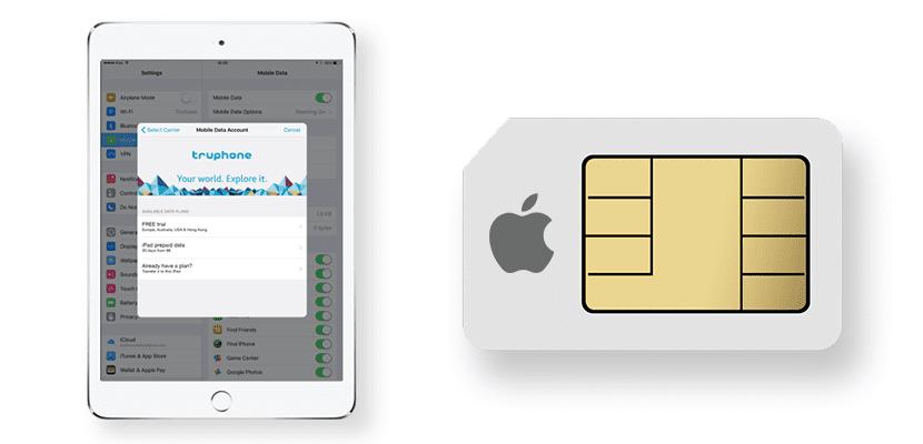 Apple SIM y Truephone