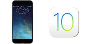 Deslizar para desbloquear en iOS 10