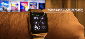 Modo Cine watchOS 3.2