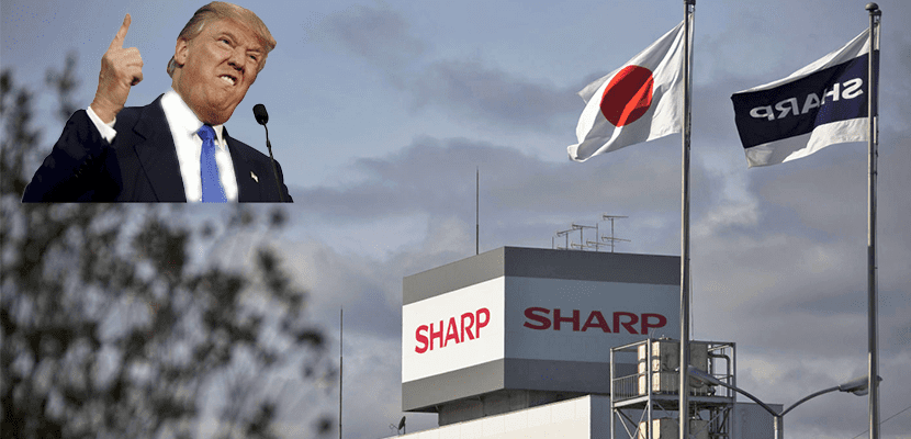Trump y Sharp