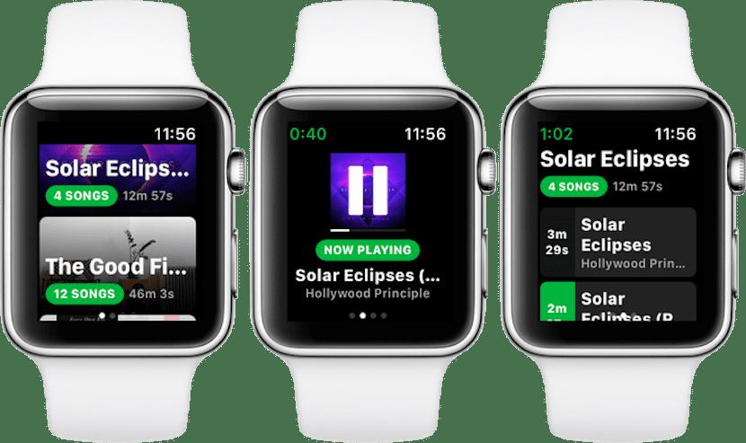 Con Spotty puedes escuchar offline tu música de Spotify en el Apple Watch