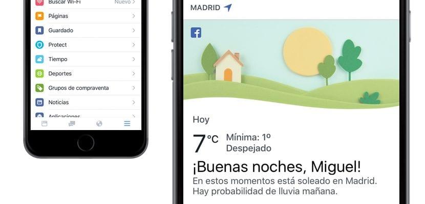 Ahora puedes ver el tiempo en la aplicaci n de facebook - Temperatura en mataro ahora ...