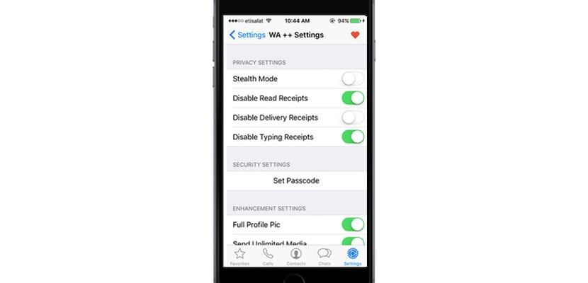 Instala WhatsApp++ en iOS 10 y sin Jailbreak