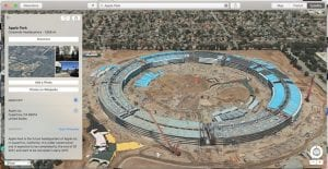 Mapas de Apple se actualiza incluyendo detalles e imágenes por satélite del nuevo Apple Park