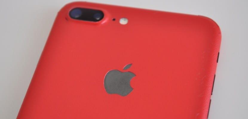 iphone 7 plus carcasa roja