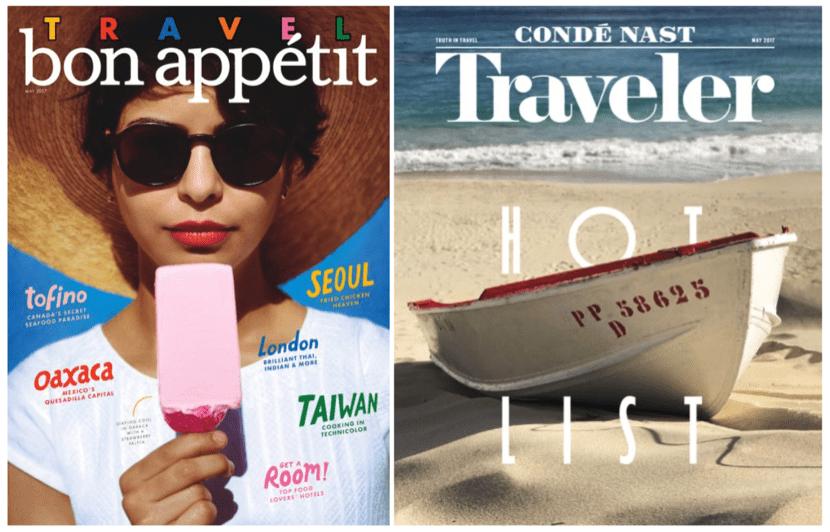 Imágenes de Condé Nast Traveler y Bon Appetir tomadas con un iPhone 7 Plus