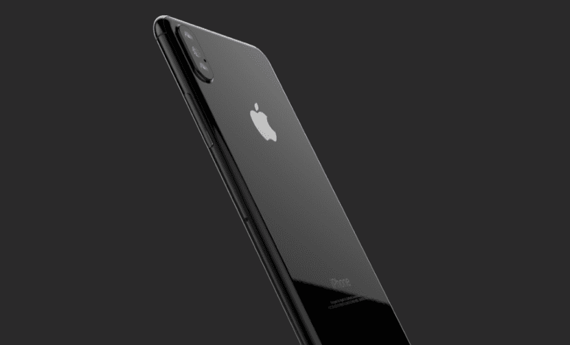 Render del iPhone 8