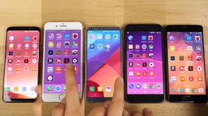 El iPhone 7 Plus gana la batalla de la velocidad