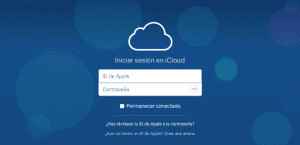 iCloud Drive contratar desde iPhone iPad