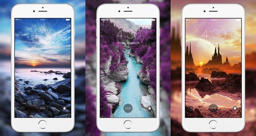 Las 8 Mejores Aplicaciones De Fondos De Pantalla Para El Iphone Actualidad Iphone