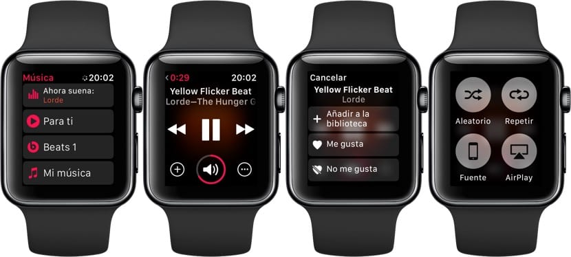 Música en el Apple Watch