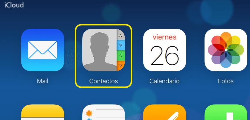 Exportar nuestros contactos del iPhone desde iCloud