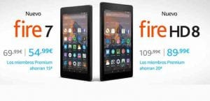 Kindle Fire Rebajas