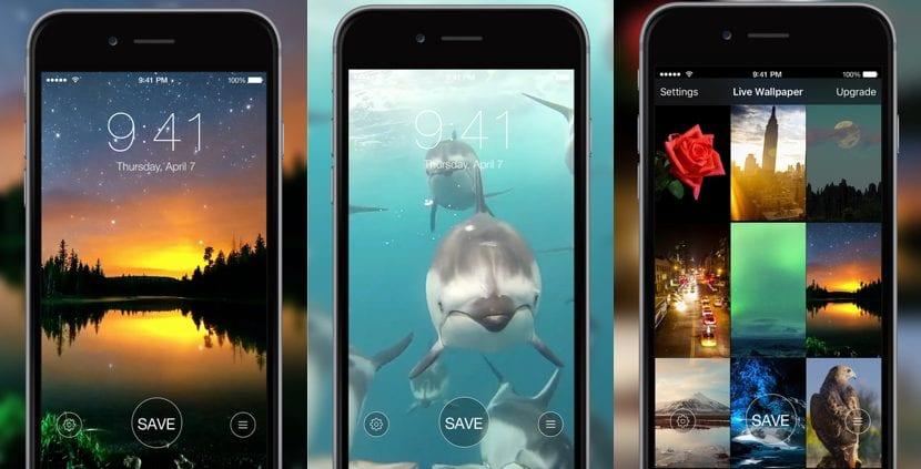 Fondos de pantalla animados para el iPhone