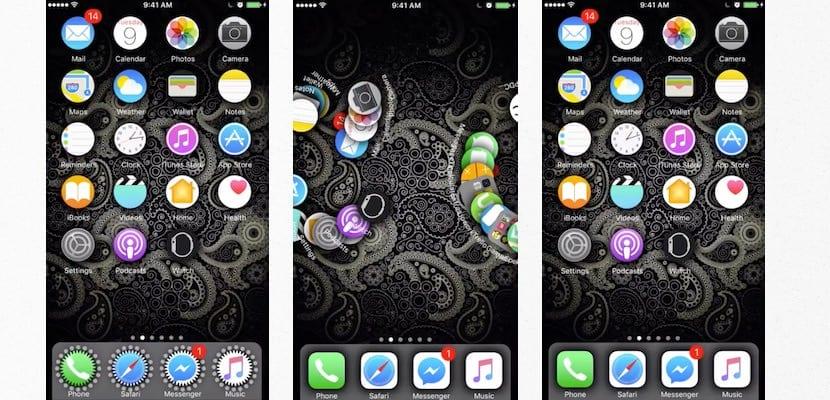 Personaliza los iconos de iOS 10 con SpringToolz (jailbreak)