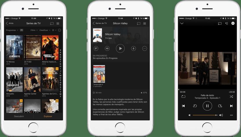 Mejores reproductores de vídeo para iOS