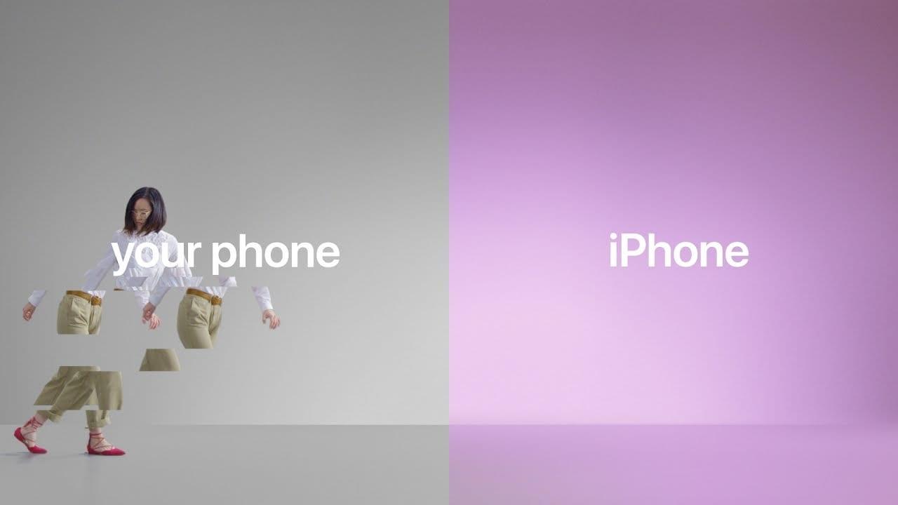 Apple lanza tres nuevos anuncios para atraer a los usuarios de Android