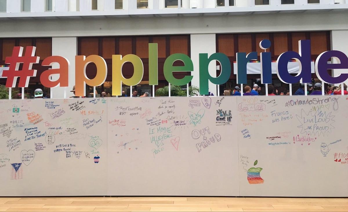 Apple celebra el Orgullo LGTBI