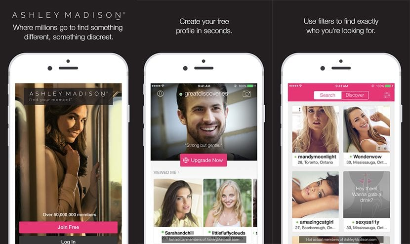app de ashley madison