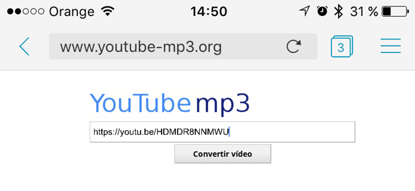 bajar mp3 de youtube iphone