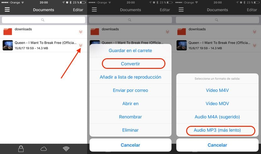 Como Convertir Videos De Youtube A Mp3 Con El Iphone