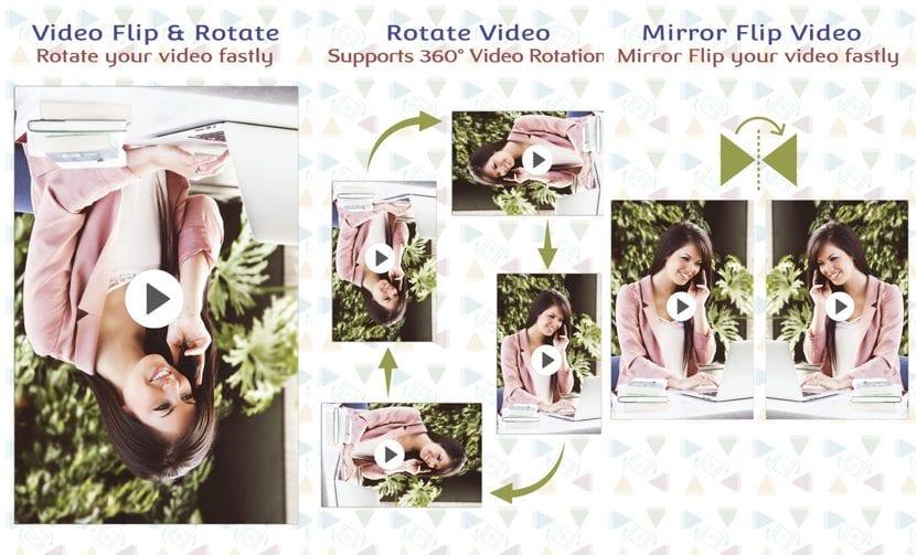 Gira tus vídeos rápidamente con HD Video Rotate
