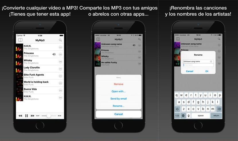 Convierte vídeos en MP3 con MyMP3