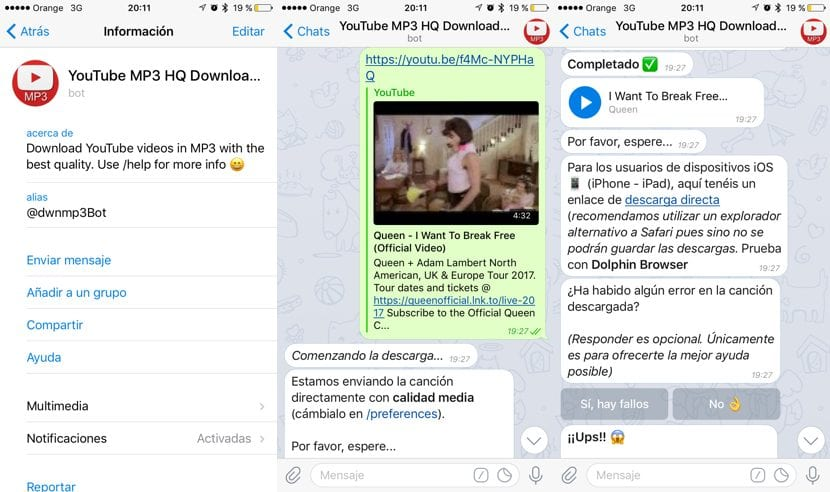 Cómo convertir vídeos de YouTube a mp3 con el iPhone ♪♫♬