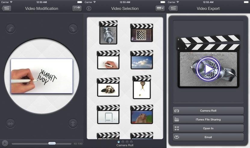 Gira tus videos en horizontal o vertial con Video Rotate & Flip