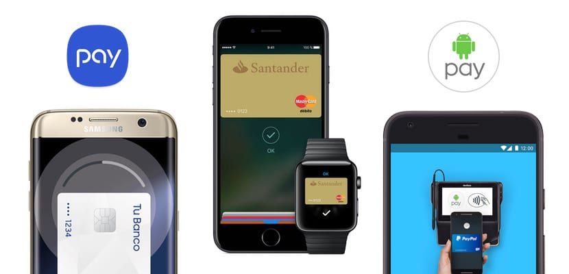 Comparativa de Apple Pay