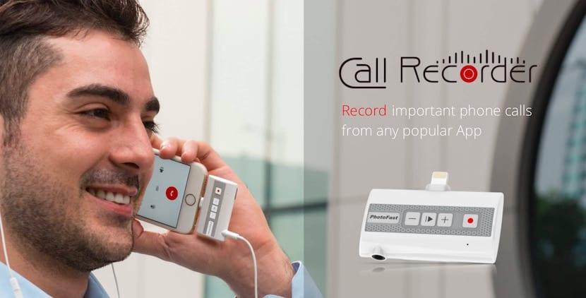 Graba fácilmente las conversaciones telefónicas del iPhone con este accesorio