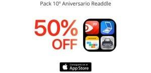 Pack 10º aniversario de Readdle Apps de productividad en oferta