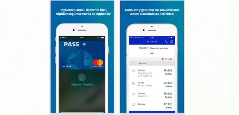 Aplicación de Carrefour Pass para iPhone
