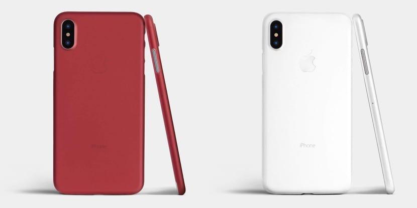 iphone x carcasa roja