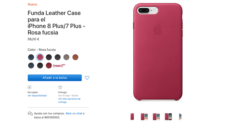 carcasa de iphone 8 plus original