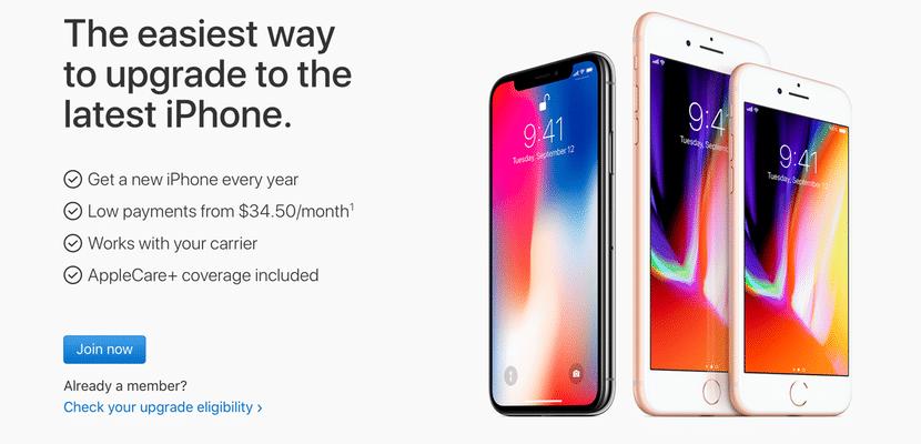 El iPhone Upgrade Program ahora permite enviar nuestro antiguo iPhone por correo para conseguir el iPhone X