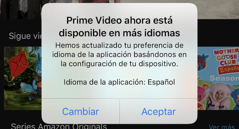 Amazon Video Prime España Idioma Español