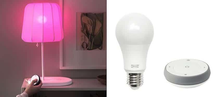 Las bombillas compatibles con homekit de ikea disponibles en varios colores - Espejo con bombillas ikea ...