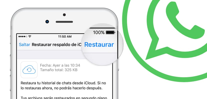 Restaurar Chats de WhatsApp