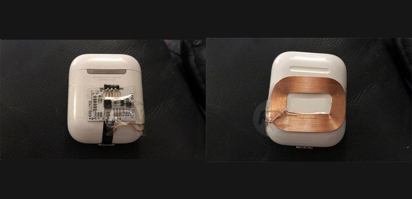 hack receptor Qi en Airpods