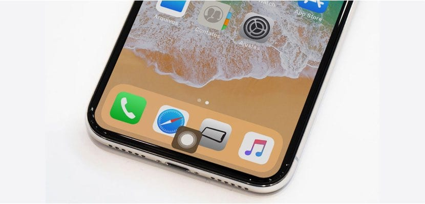 Activar AssistiveTouch en el iPhone X